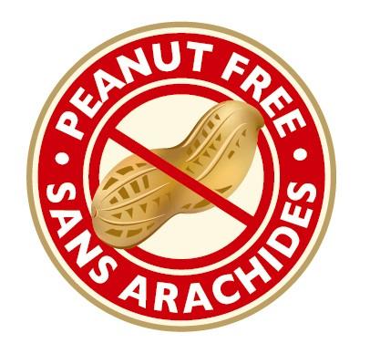 peanut free symbol
