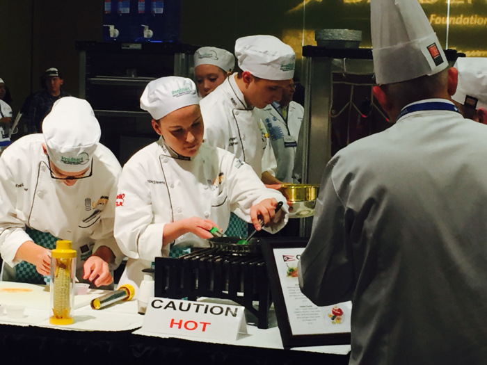 high school students culinary competition