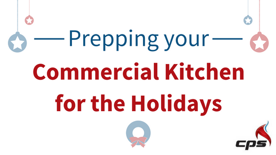 holiday commercial kitchen prep