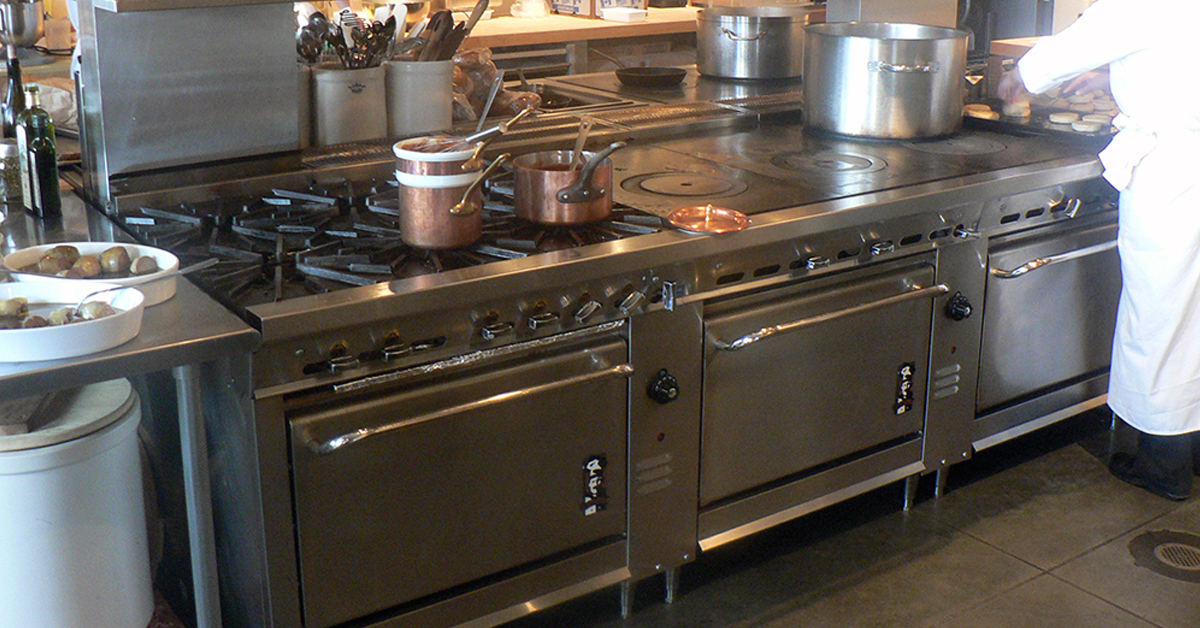 clean and maintain your commercial stove
